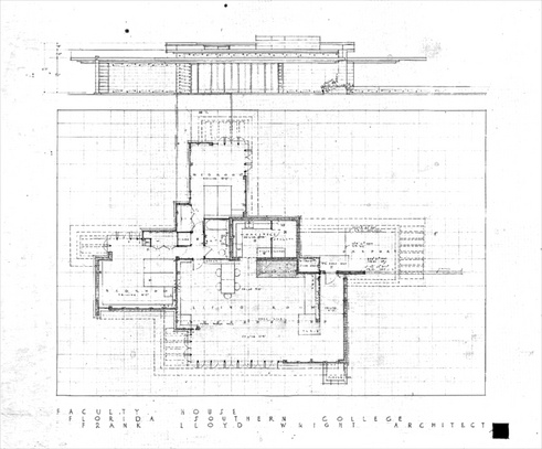 Contemporary Usonian House Plans Frank Lloyd Wright Blueprints ...